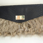 DIY Fake Fur Clutch