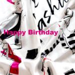 Anzeige- Happy Birthday Gewinnspiel