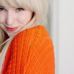 Ich trage Orange