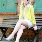 Dressed up der gelbe Blazer