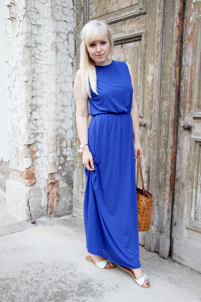 Blue Maxidress