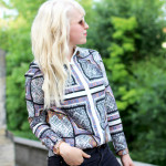 i missed you pattern blouse