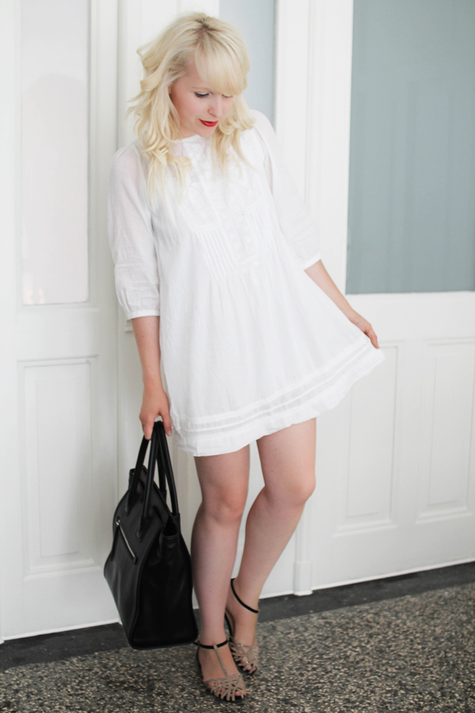 not only for one season -white dress