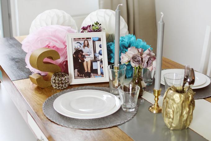 DIY die perfekte Tischdeko