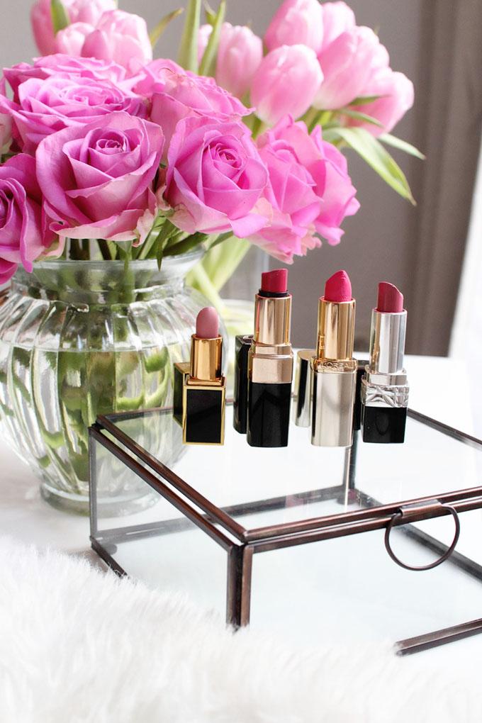 Beauty best rose lipstick shades