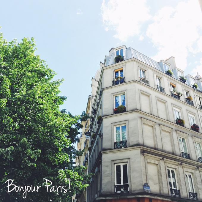 Ein Bonjour aus Paris