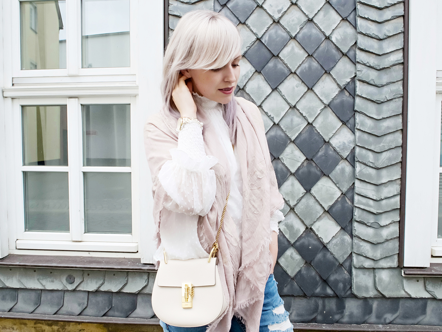 My weekend Outfit with Roeckl // zukkermaedchen