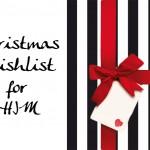 Christmas Wishlist for Him