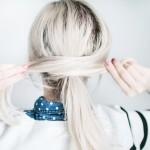 5 Minute Messy Hair Tutorial