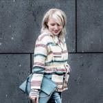 Auf dem Boden geblieben in Chanel und H&M Trend