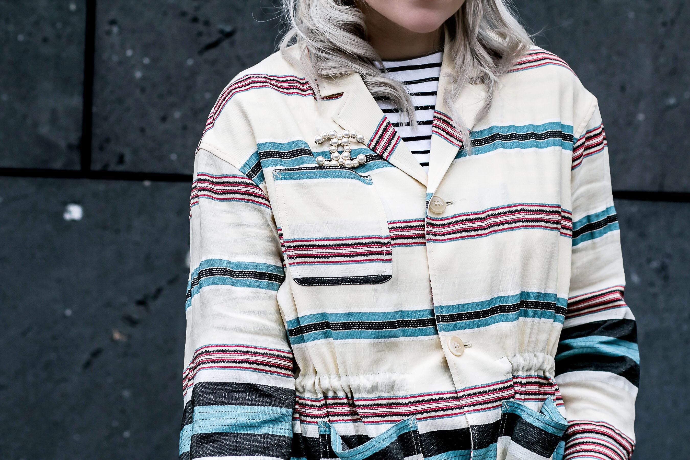 Auf dem Boden geblieben in Chanel und H&M Trend // zukkermaedchen