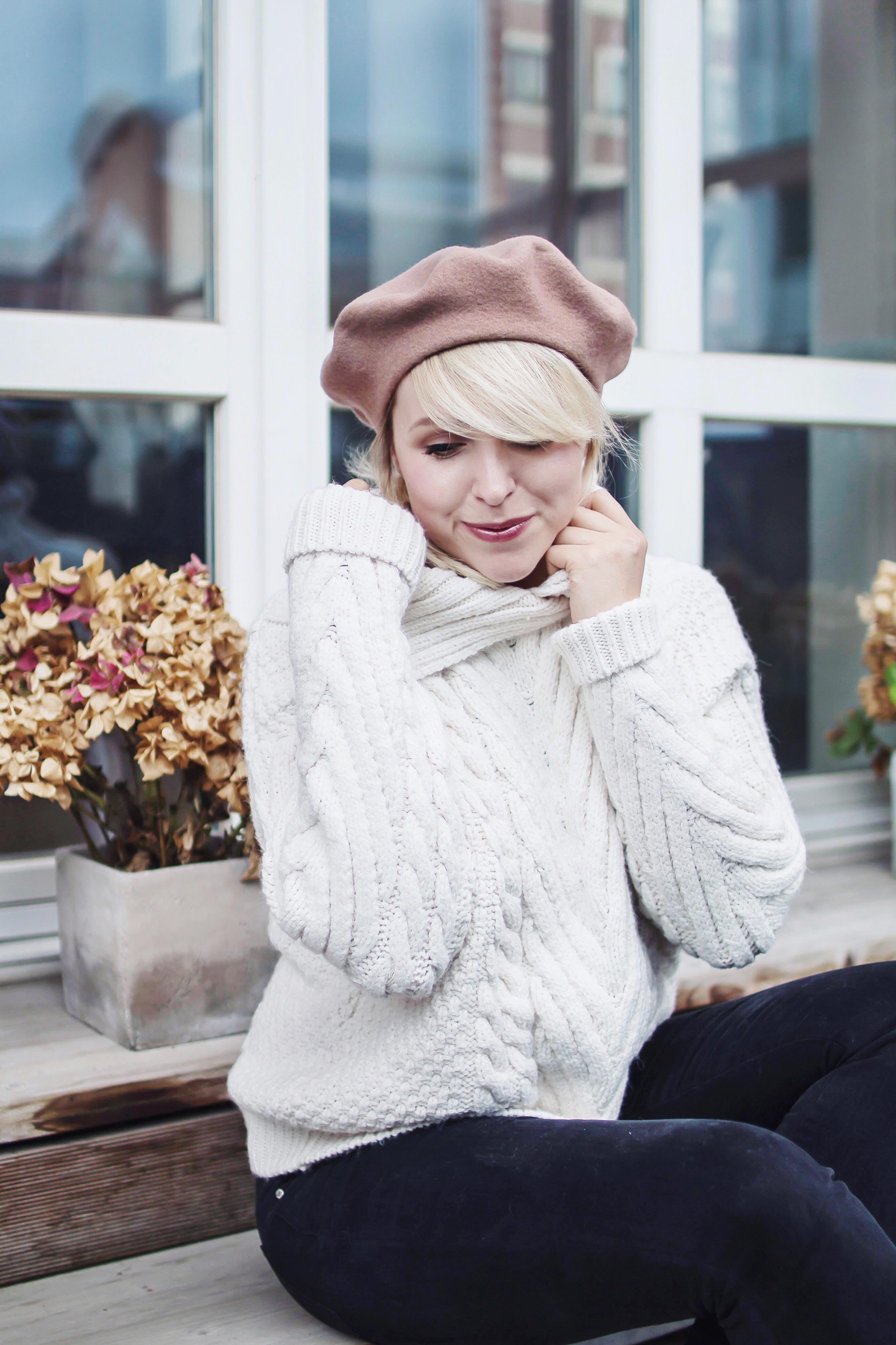 sweater wollpullover zara blogger Alltag hinter den kulissen