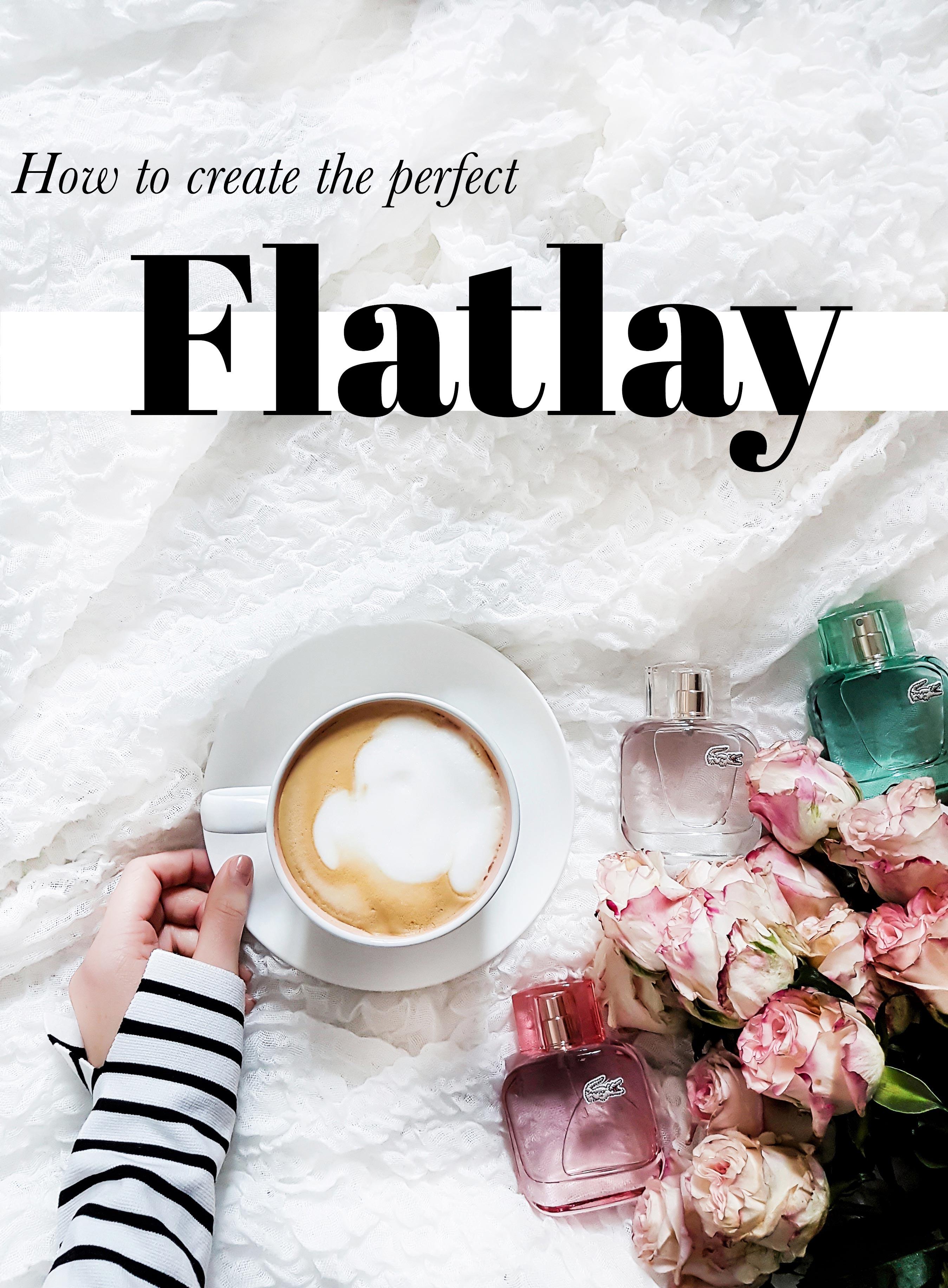 blogger arbeite Flatlay gestaltung Dekoration perfekte Bilder fuer Instagram mehr follower