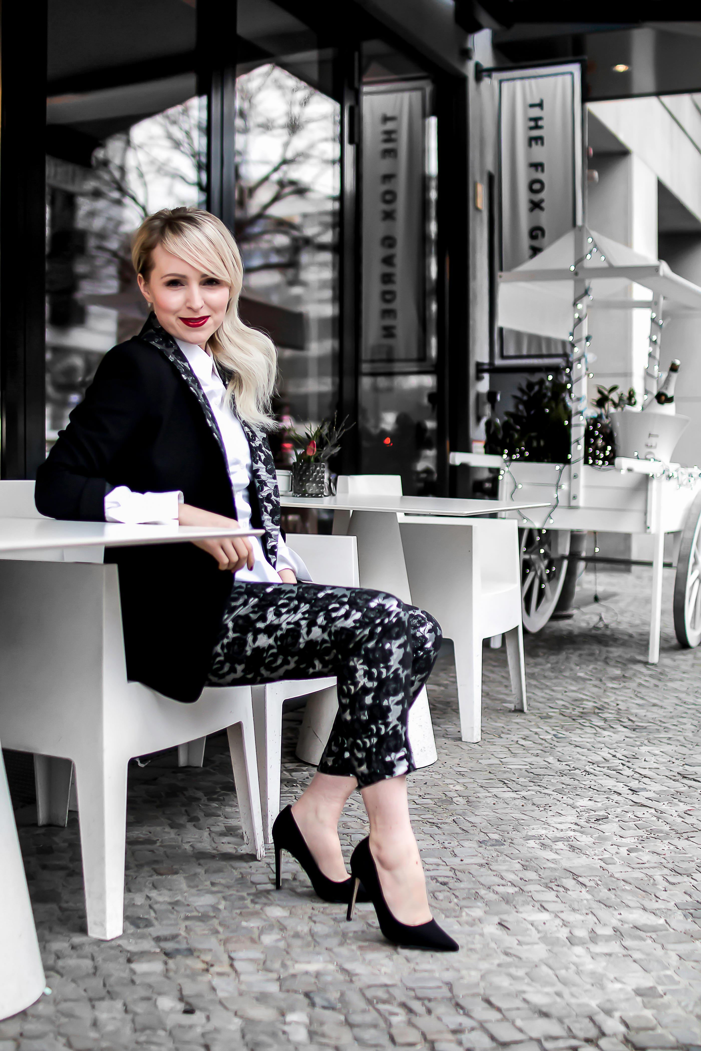 berlinale outfit Asos Hosenanzug raus aus dem Alltag positive Einstellung