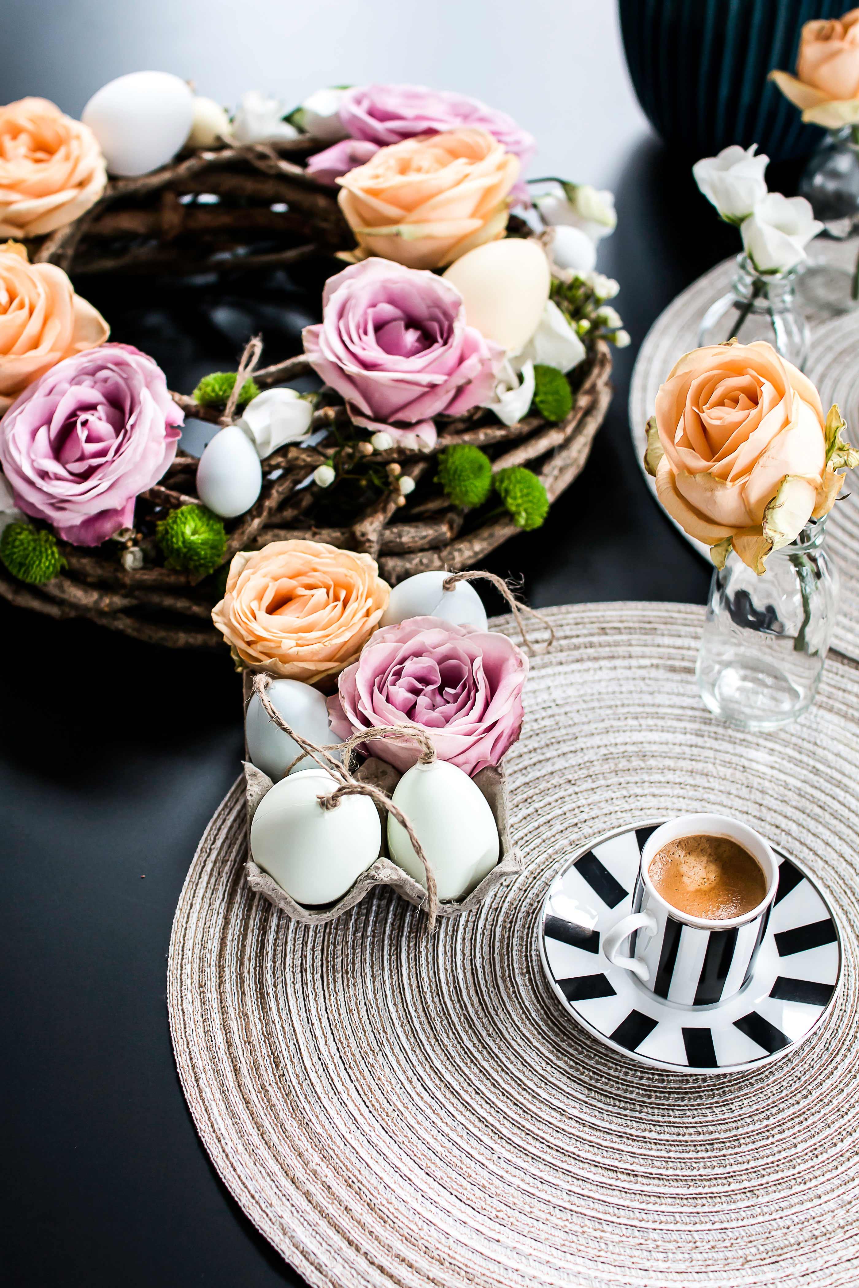 5 Minute DIY: Die perfekte Oster Tischdekoration - zukkermädchen