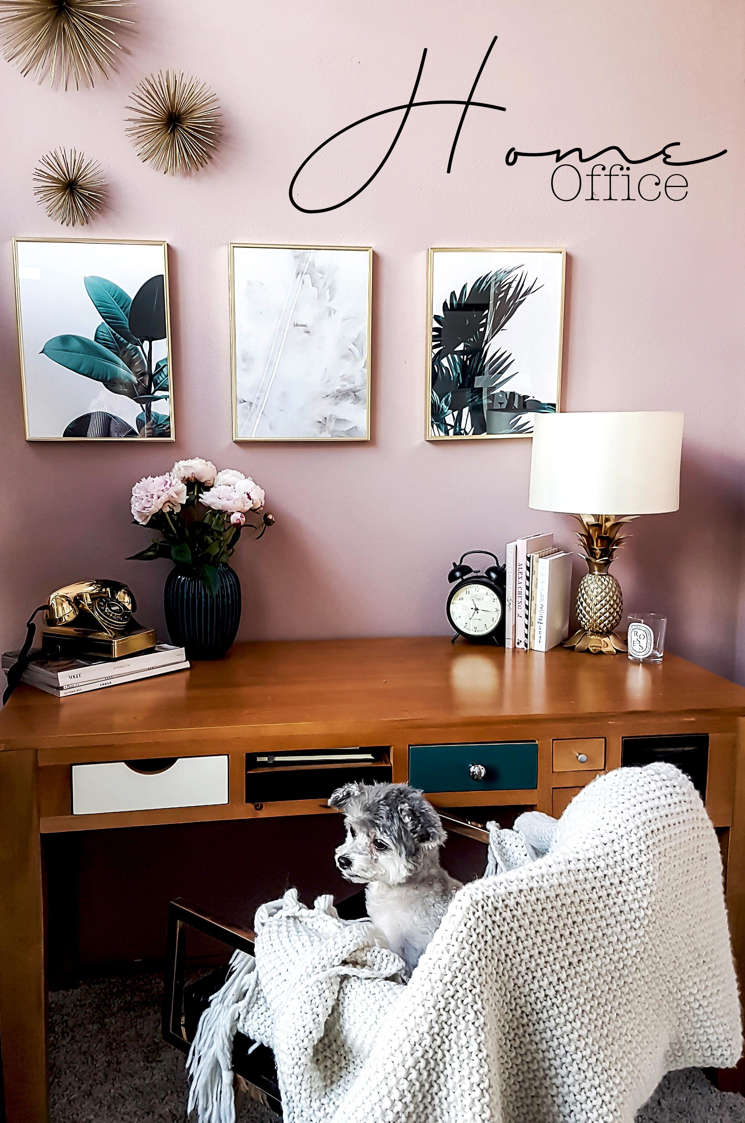 Desenio Home Office Makeover mit Kate Mossa und Co - zukkermädchen