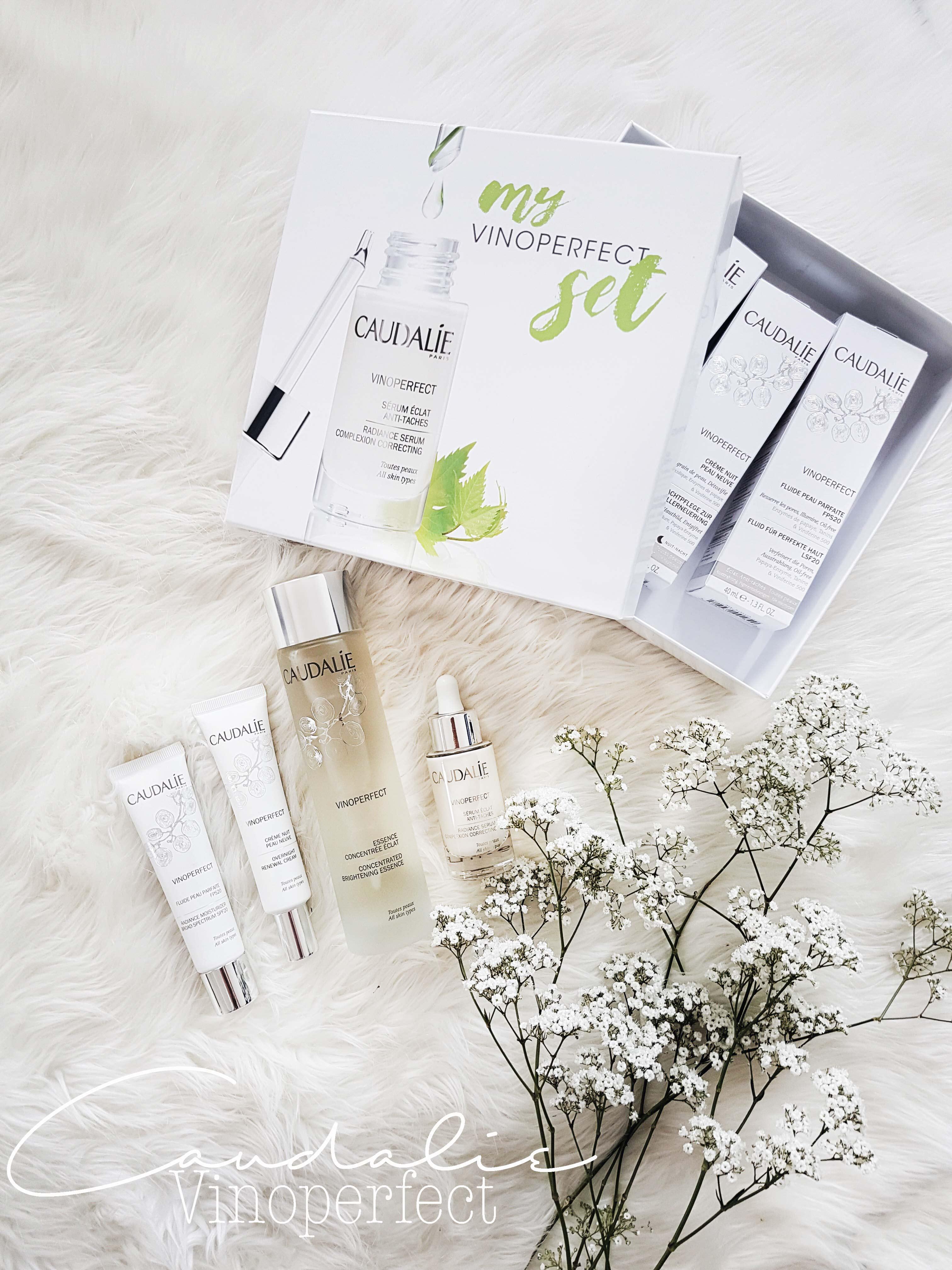 Caudalie Vinoperfect Gesichtspflege Beauty Test französische Hautpflege