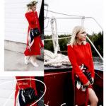 The red midi dress – das rote Kleid