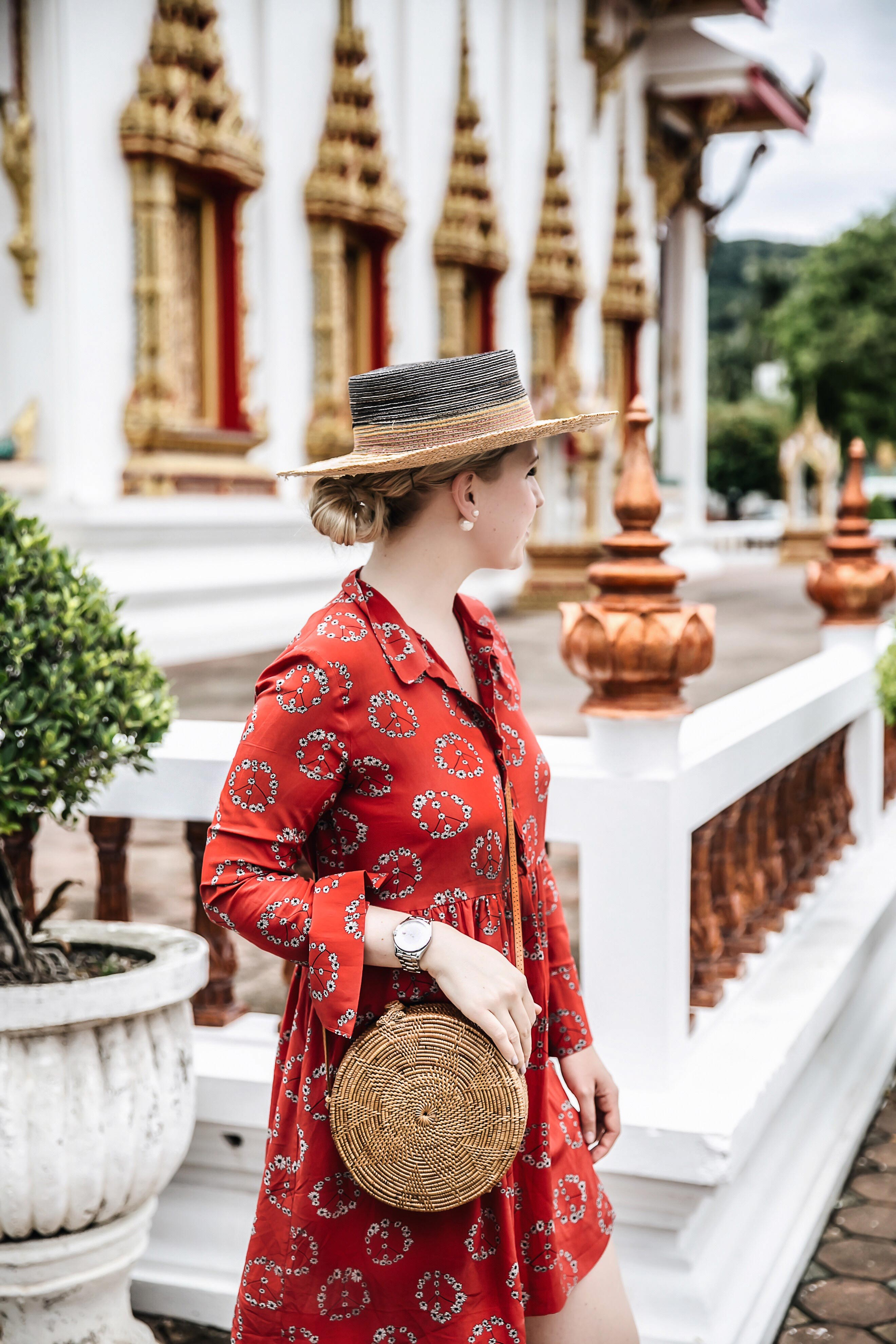 wat chalong Tempel in Phuket Sehenswürdigkeit Must See Travel Outfit