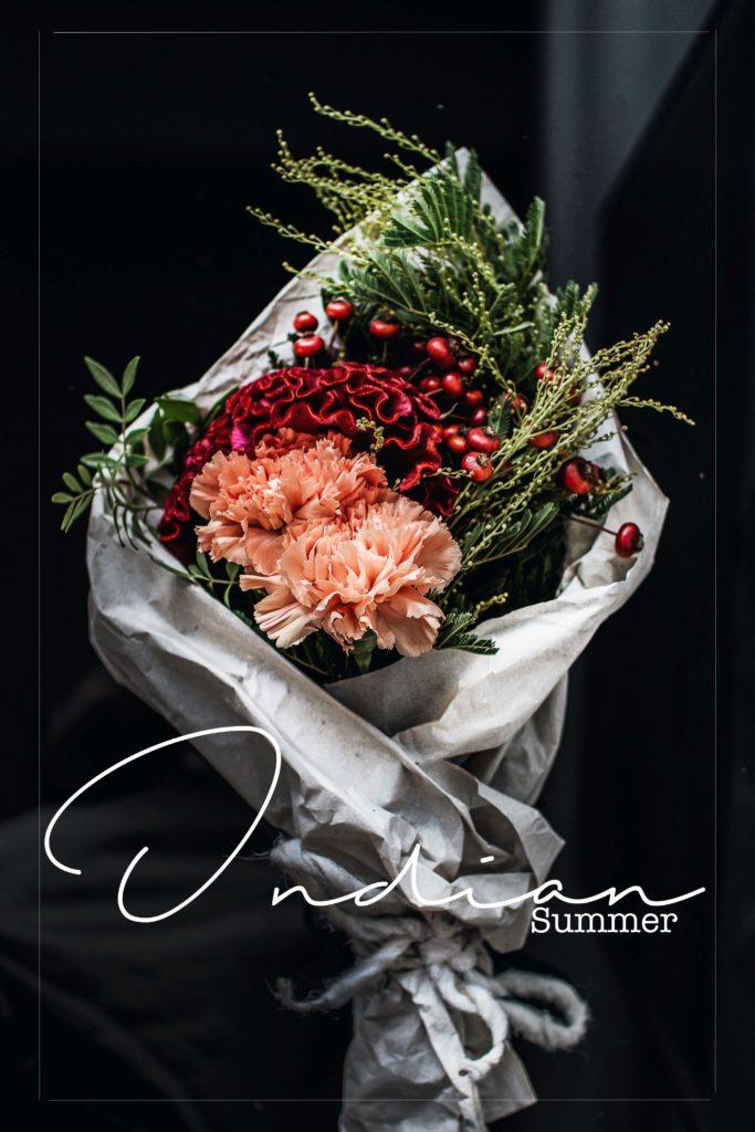 3 indian summer flowers 3 schnittblumen trends f r zu hause. Black Bedroom Furniture Sets. Home Design Ideas