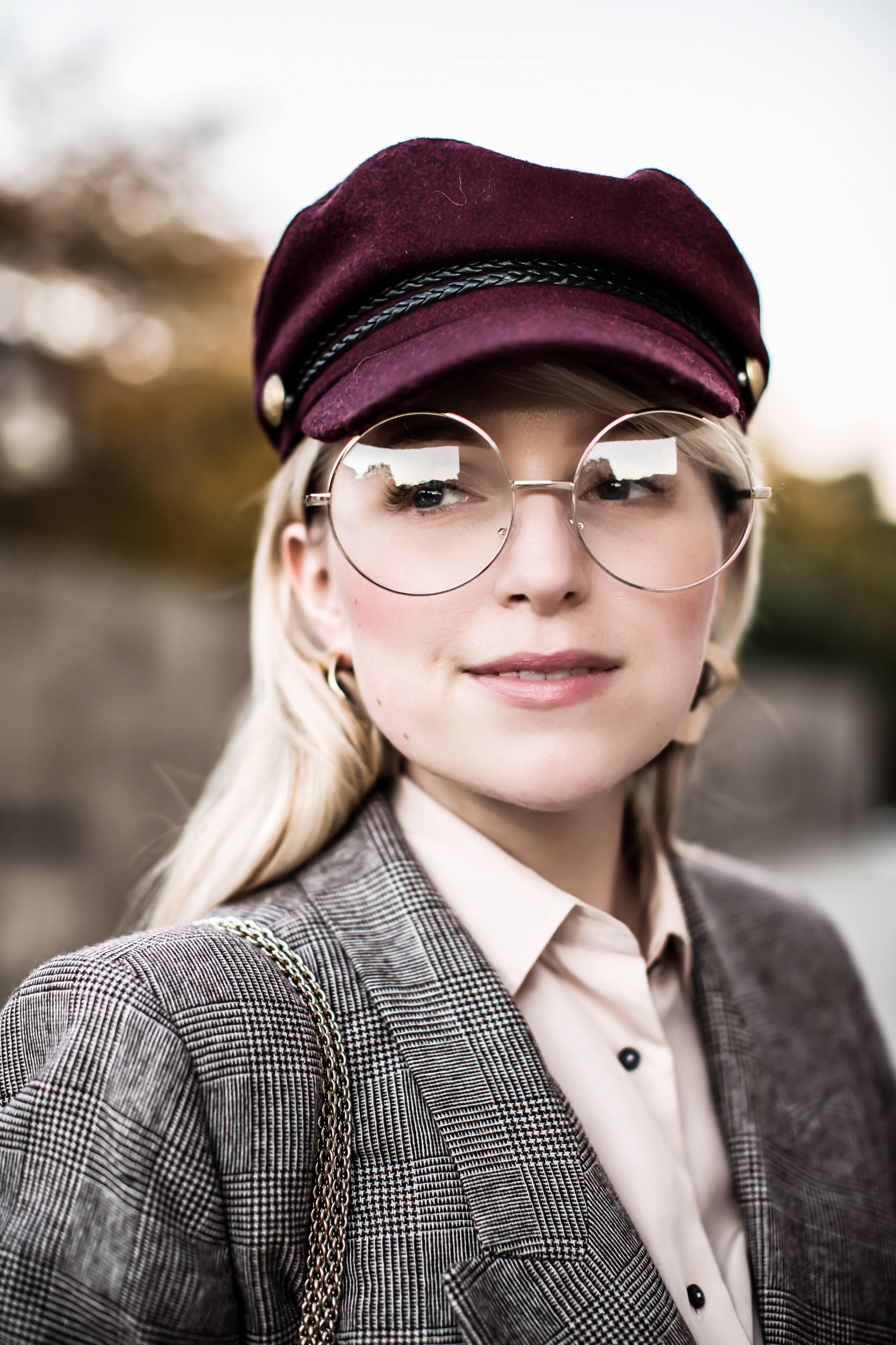 BakerBoy Hat chic brit chic balzer zara herbstoutfit inspiration