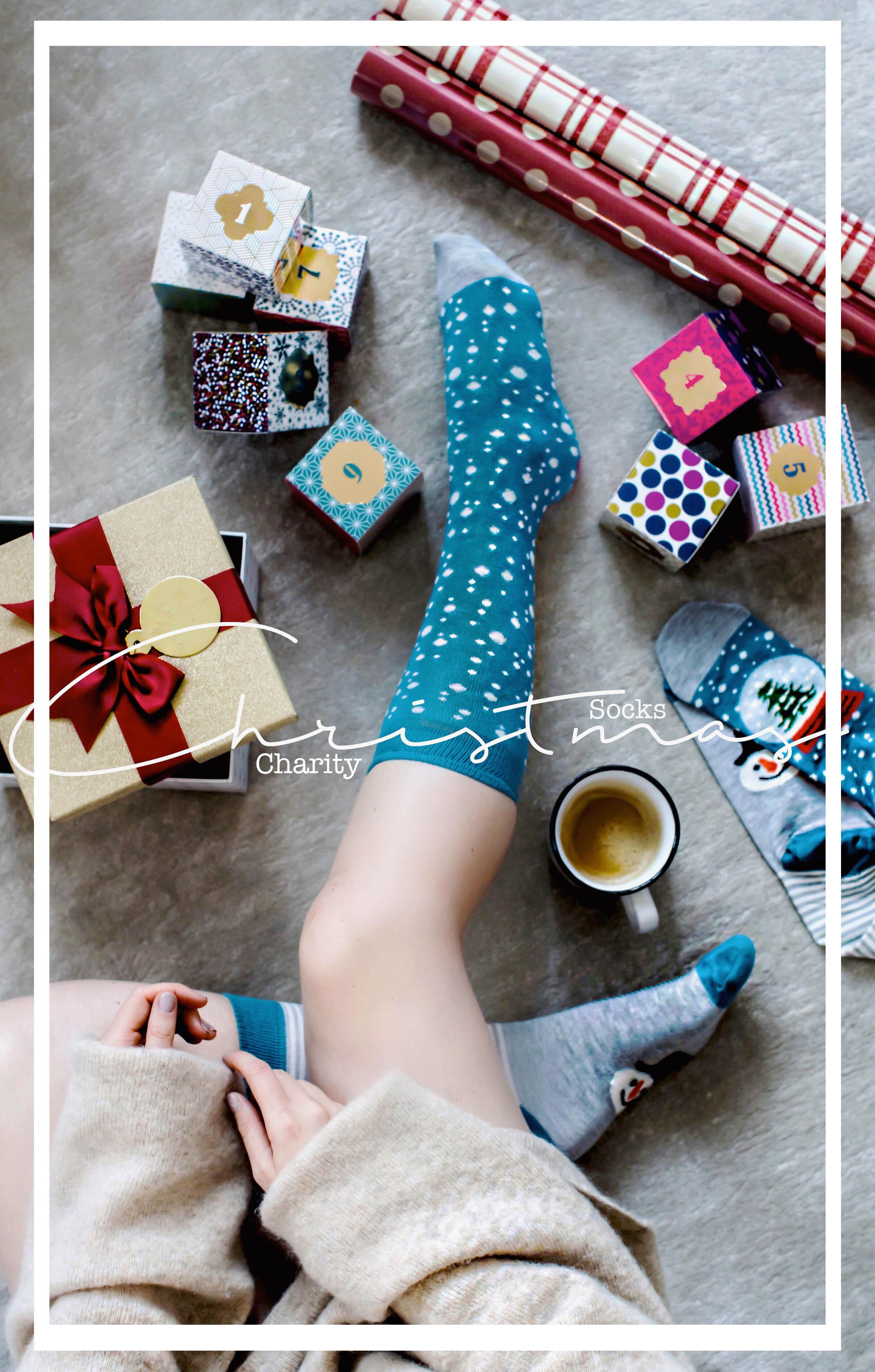 christmas socks day charity aktion von TK Maxx spenden