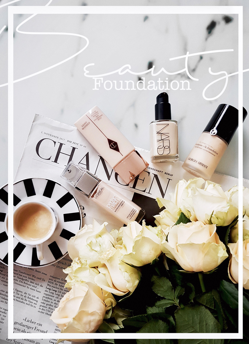 foundation ton passendes make-up Natuerlichkeit