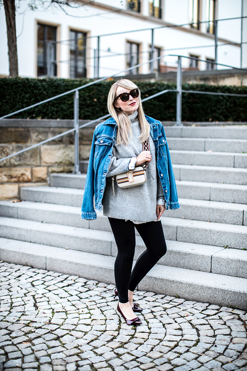 leggings trend zata denim Jeansjacke