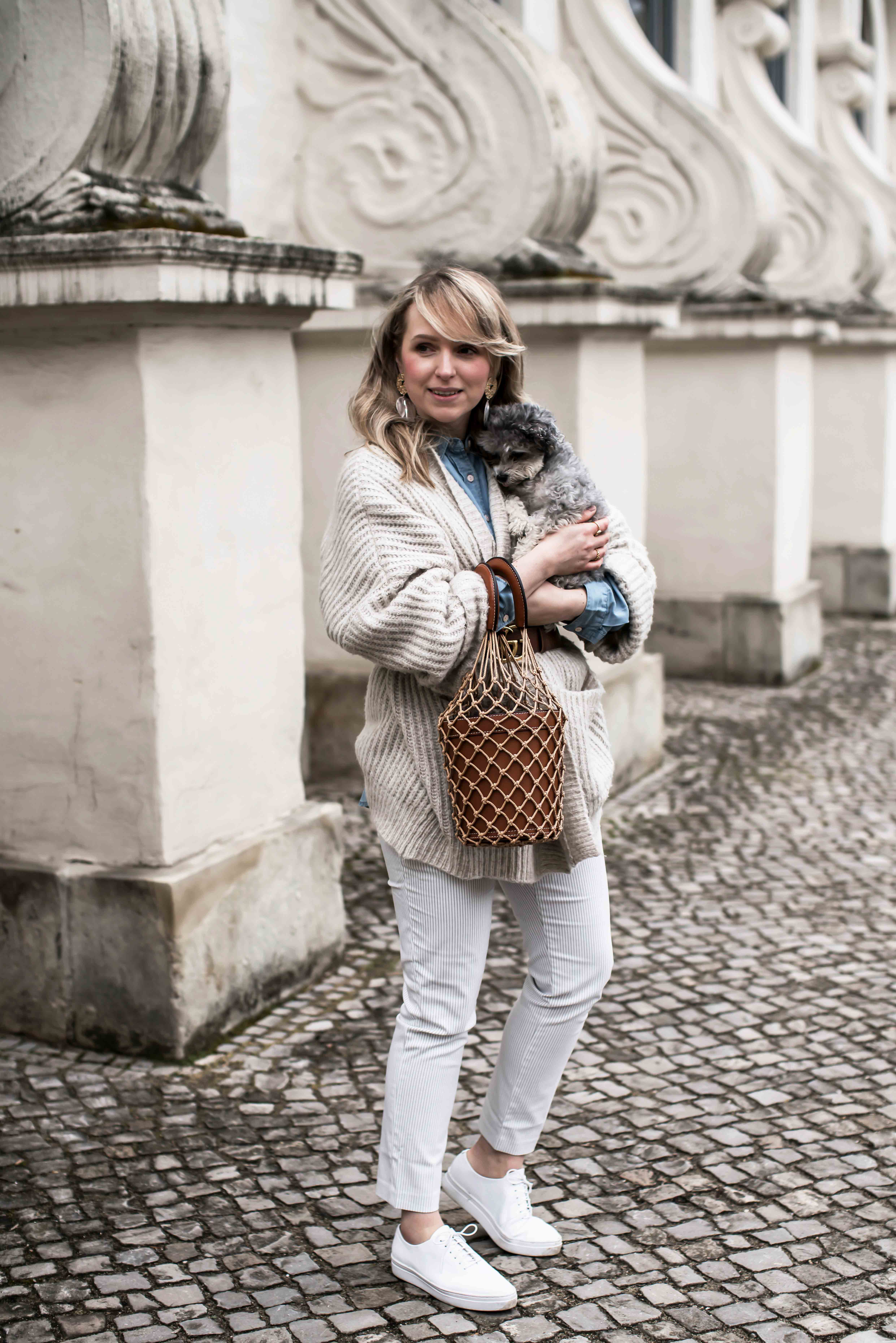 Family First Hundemom ootd: Gucci meets zara knitwear