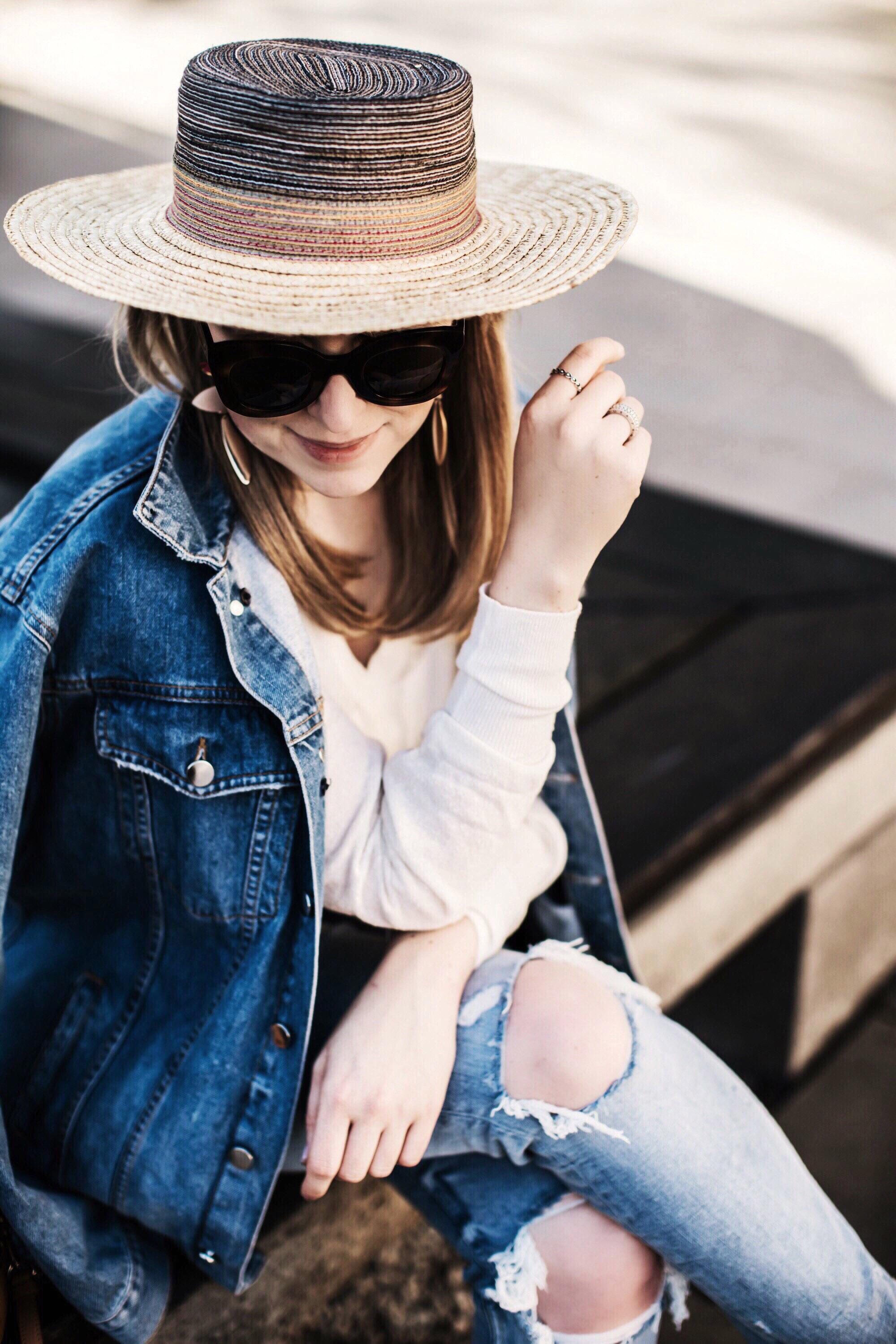 fruehlingsoutfit zara jeansjacke endlich sonne weekly update