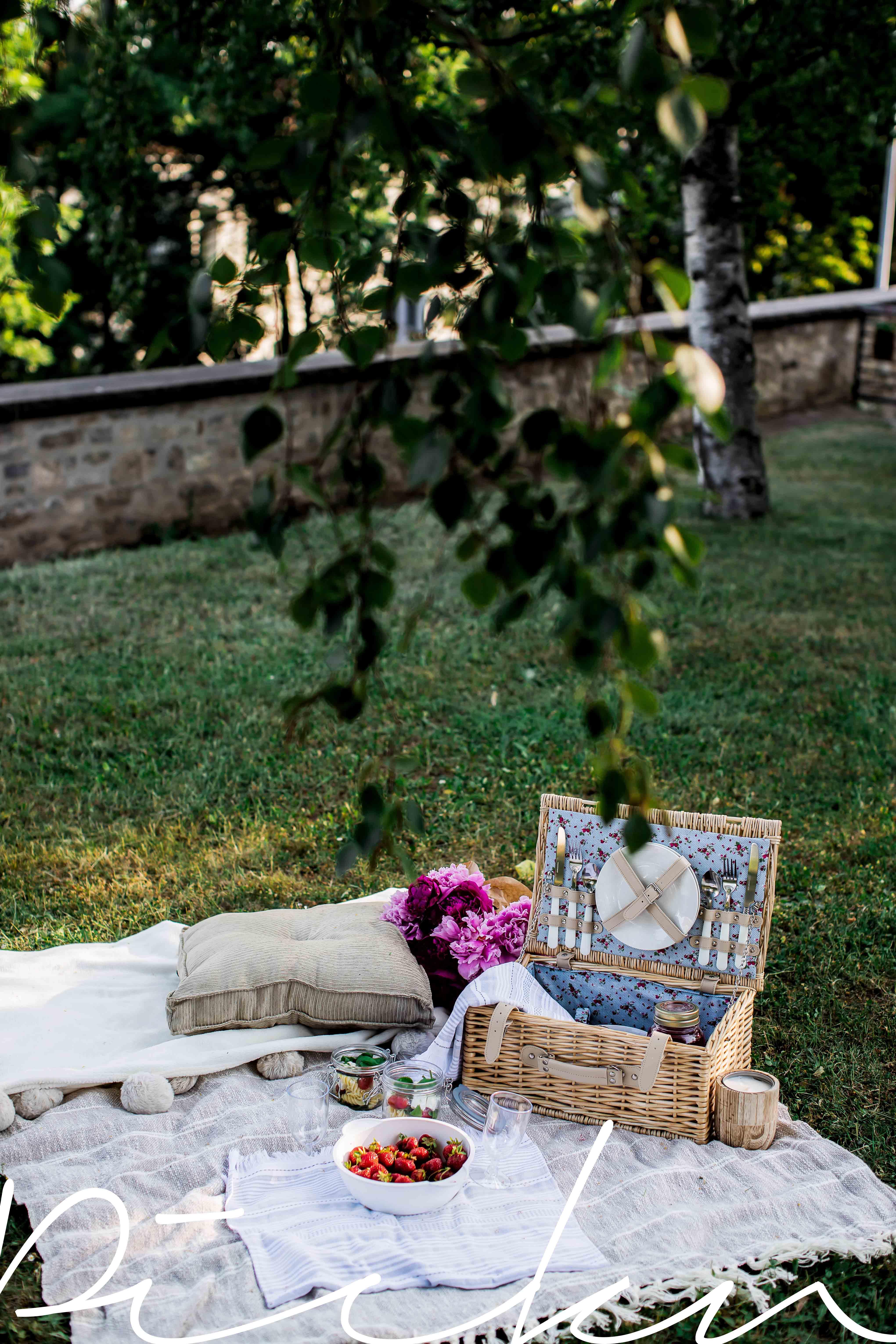 ein Picknick für zwei mit Tk Maxx shoppen