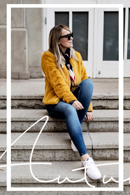 Wir dürfen gern mehr Farbe tragen. Die Herbststyle Farb-Frage.