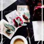 Short DIY: Christmas cards
