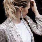 Das lässige Silvester Outfit: Der Pailletten Blazer von zara