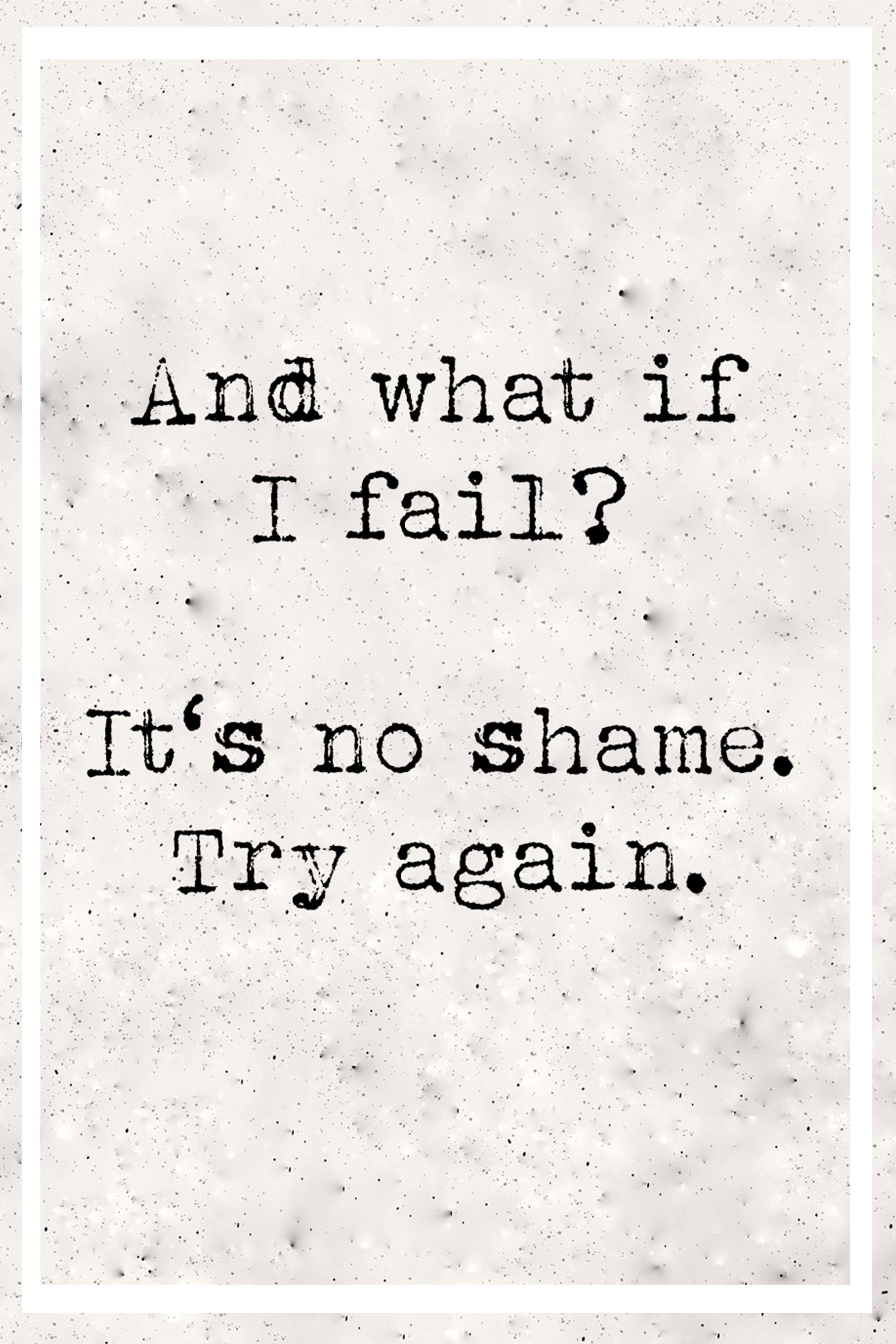scheitern im Leben und im Job- nicht aufgeben bitte