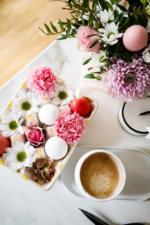 Ostern schnell etwas schönes dekortieren tischdeko geschenke ideen