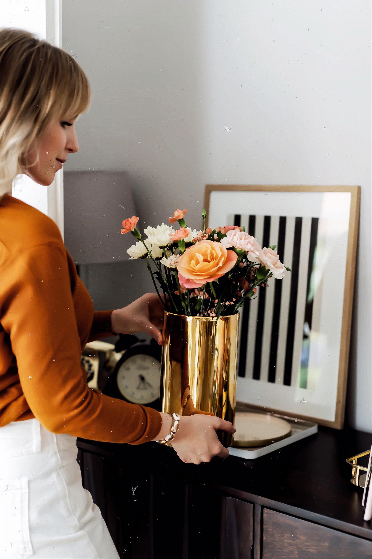 zum Muttertag alles liebe Blumen verschenken