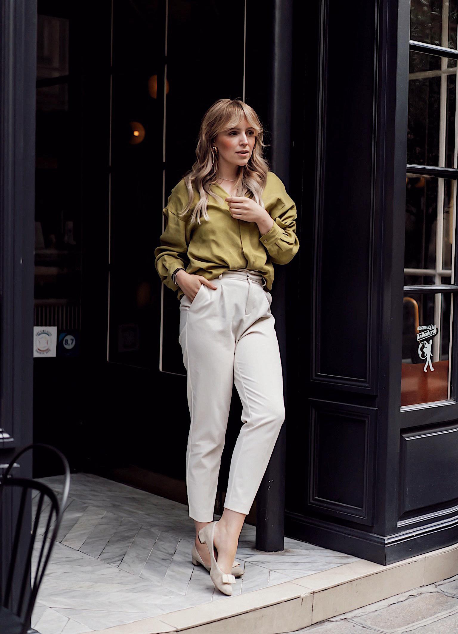 Die Bundfaltenhose, die dich größer, eleganter und schlanker wirken lässt