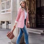 Summer Must-Have: Der pinke Blazer- oder wie Blond & Pink doch passt