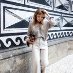 Hosenliebe: Das ausgestellte Bein aus der H&M Trend Abteilung