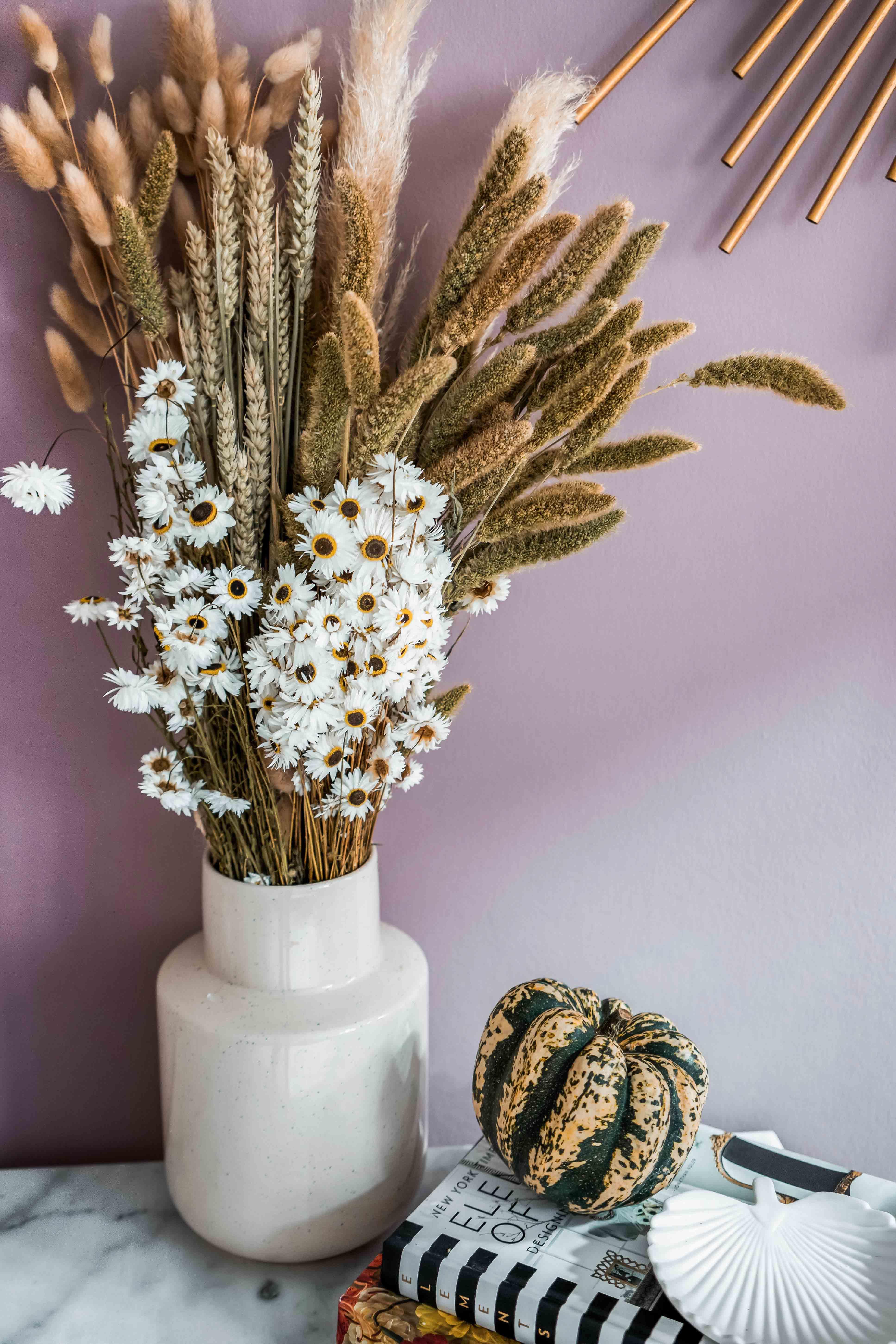 Blumentrend: Trockenblumen und Sträusse