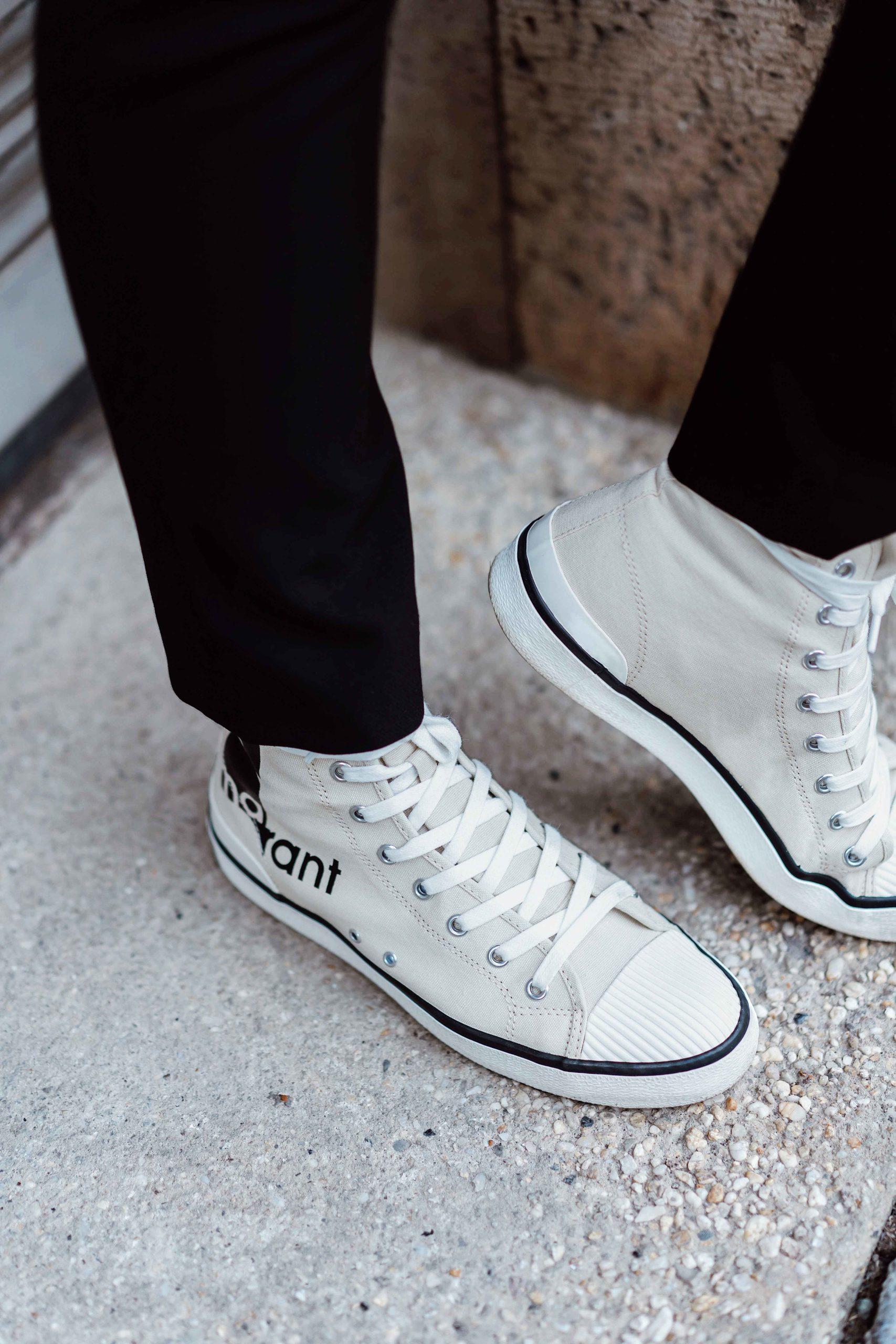 High-Top Sneaker sind wieder in Mode. Ob Dior oder Isabel Marant, alle wollen sie