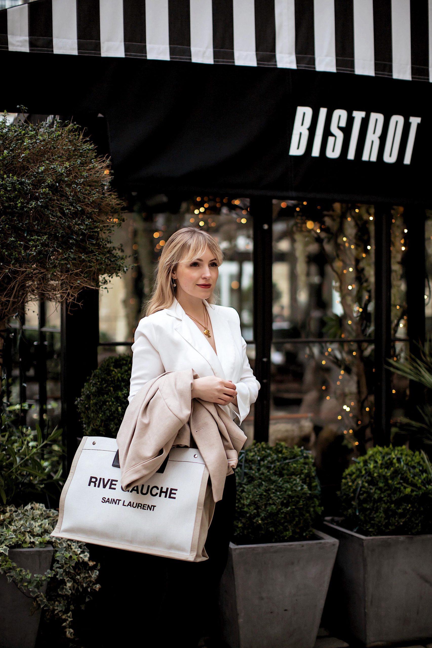 Paris Streetsyle. Büro Look für die warmen Tage