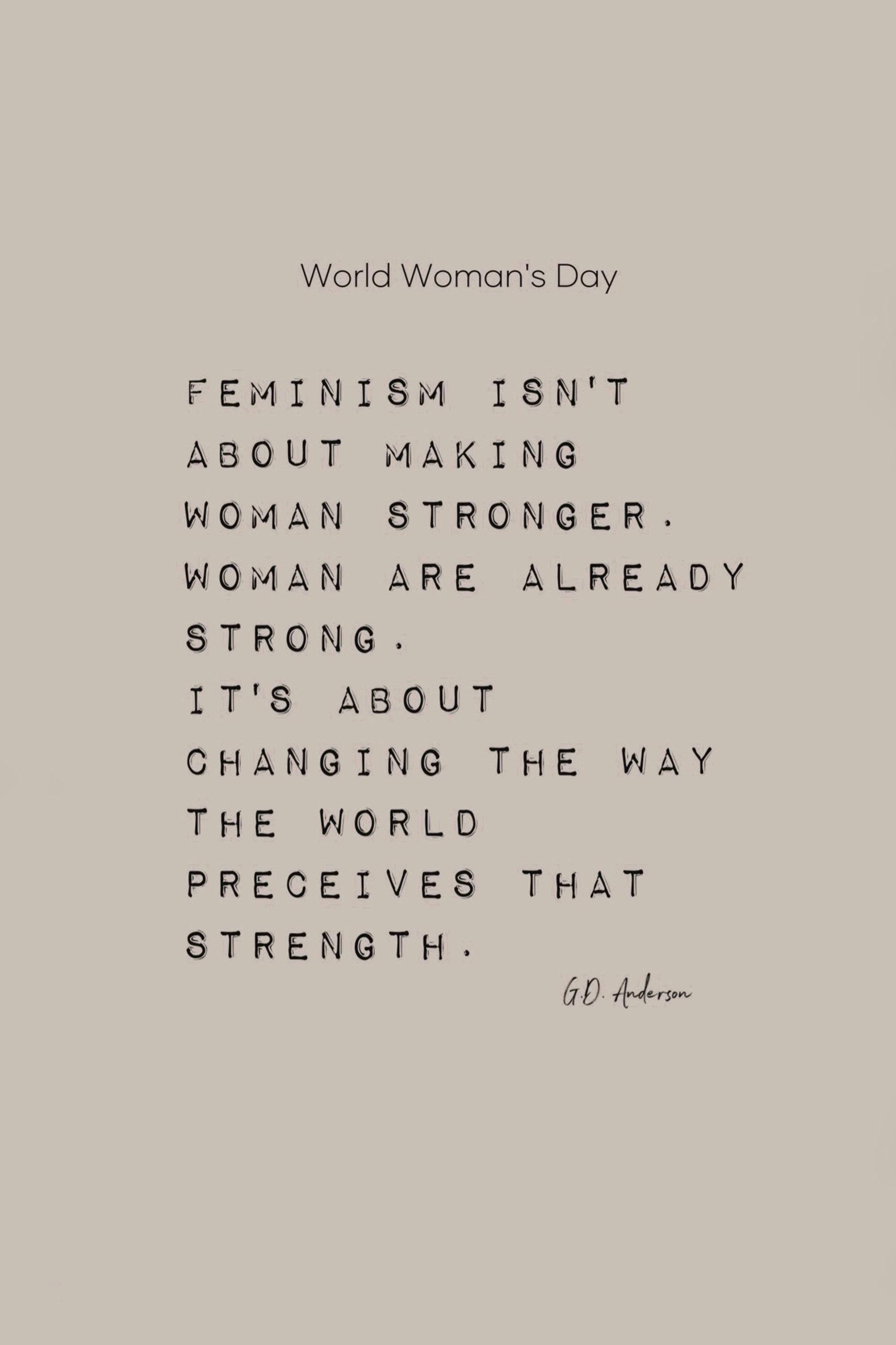 ist der Weltfrauentag nur eine PR Maßnahme?