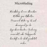 Microblading – Was passiert da überhaupt?