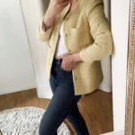 2021 mein Kleiderschrank Favorit: Die Bouclé Jacke